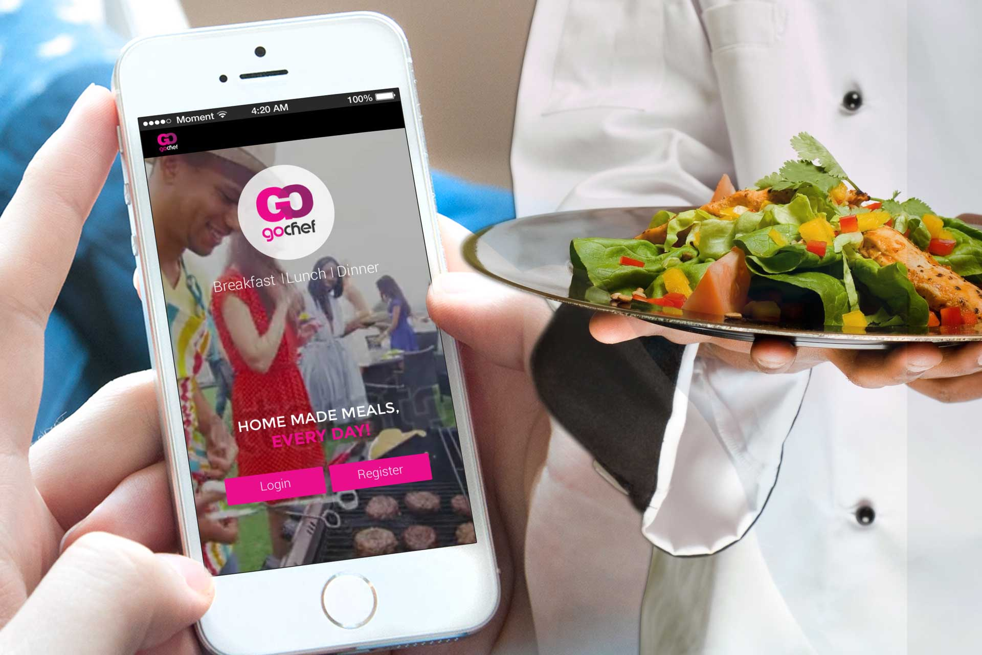 On Demand Dining Mobile App